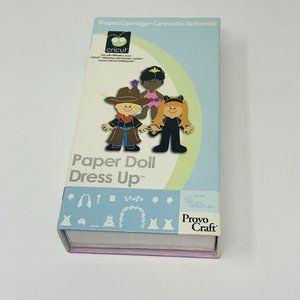 Provo Craft Cricut Cartridge Paper Doll Dress Up